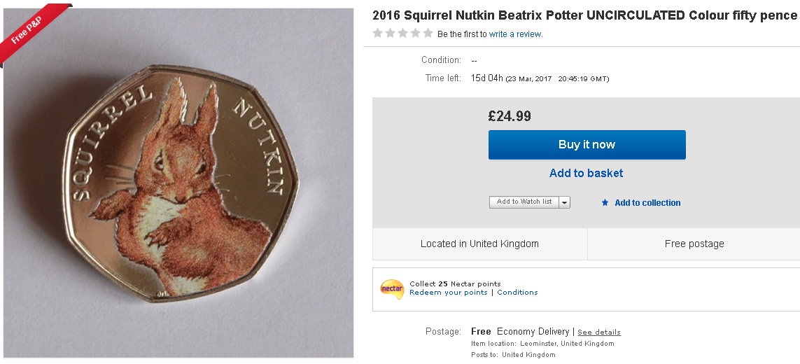 The truth behind the Beatrix Potter 50ps