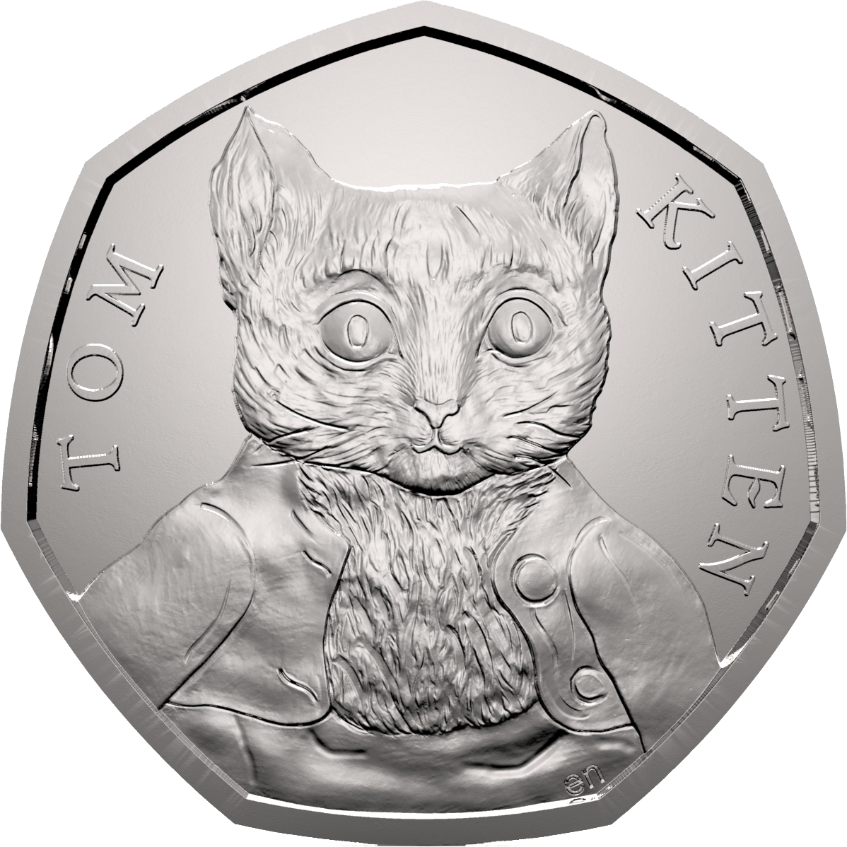 tom kitten 2017 uk 50p bu coin 1 - Revealed: Four new Beatrix Potter 50p coins