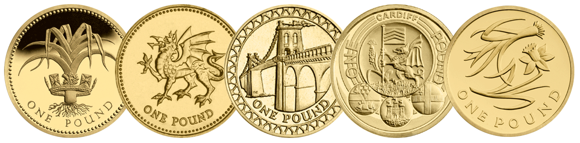 welsh c2a31 coins in a row1 - Poll: What is your favourite £1 Coin Design? – Wales