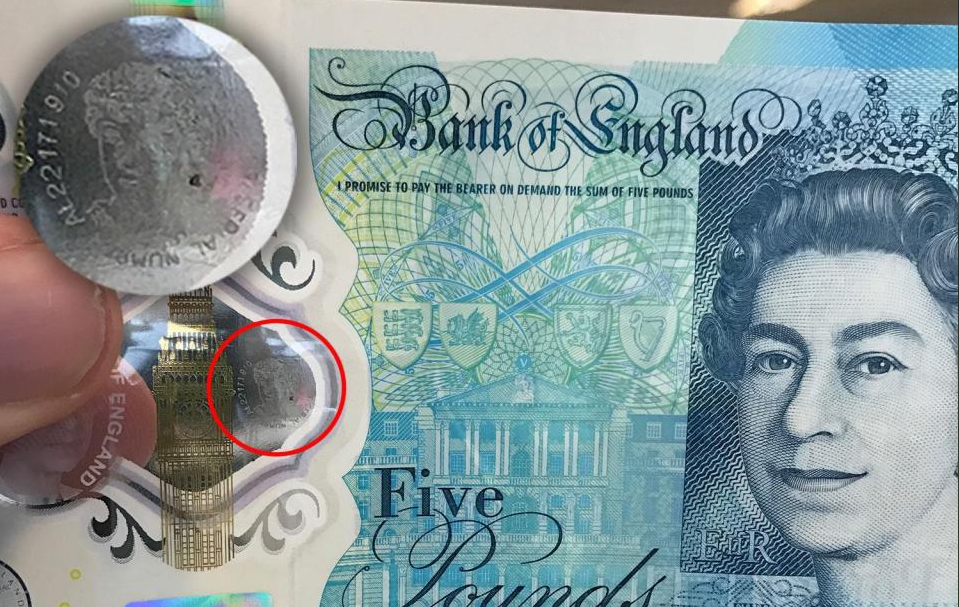 fiver mysterious message - Update: The latest news on the Bank of England's Polymer Banknotes