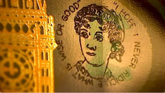 jane austen banknote tweet123 - Update: The latest news on the Bank of England's Polymer Banknotes