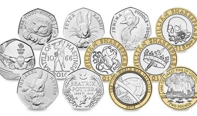 2016 coins - 2016 mintage figures just released!