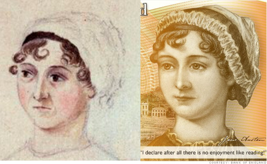 Not everybody is happy with Jane Austen's 'makeover' on the new £10 note
