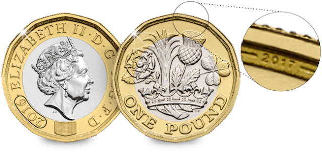 Dual Dated - £1 Coin Minting Error 'Confirmed'