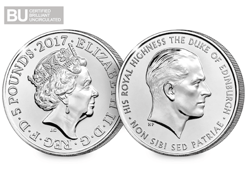 ImageGen 1 - The Royal Mint has just announced the release of a brand new UK Prince Philip coin
