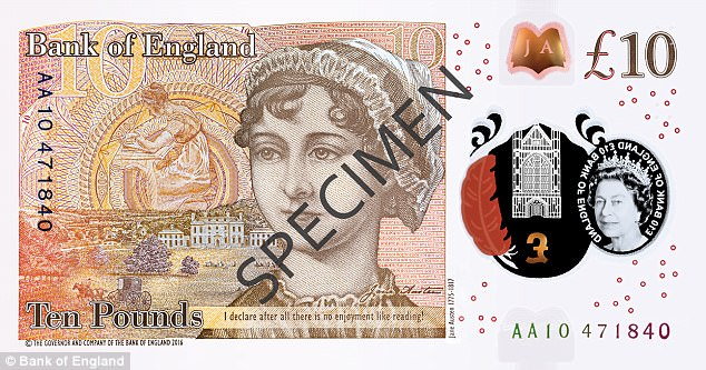 note - Everything you need to know about the Jane Austen Polymer £10 banknote...