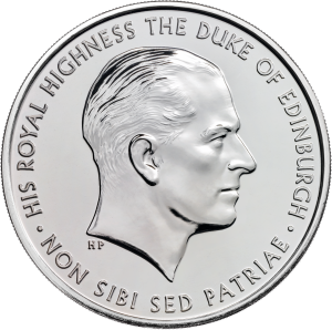 prince philip bu obvprince philip celebrating a life of service 2017 uk c2a35 brilliant uncirculated coin reverse uku039201 300x298 - prince philip bu obvPrince Philip Celebrating a life of service 2017 UK £5 brilliant uncirculated Coin reverse uku03920