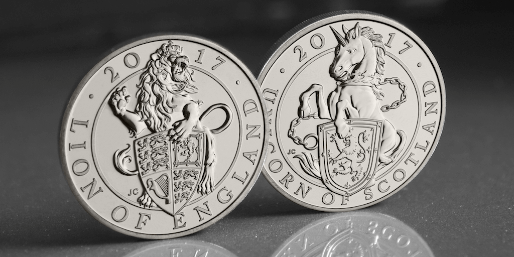 queens beasts lion and unicorn facebook twitter 1024x512 - What are 'The Queen's Beasts' and why do they feature on the new £5 coins?