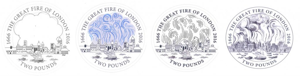 Fire of London 1024x259 - How does it feel to design the UK's newest circulation coin? I caught up with Aaron West to find out.