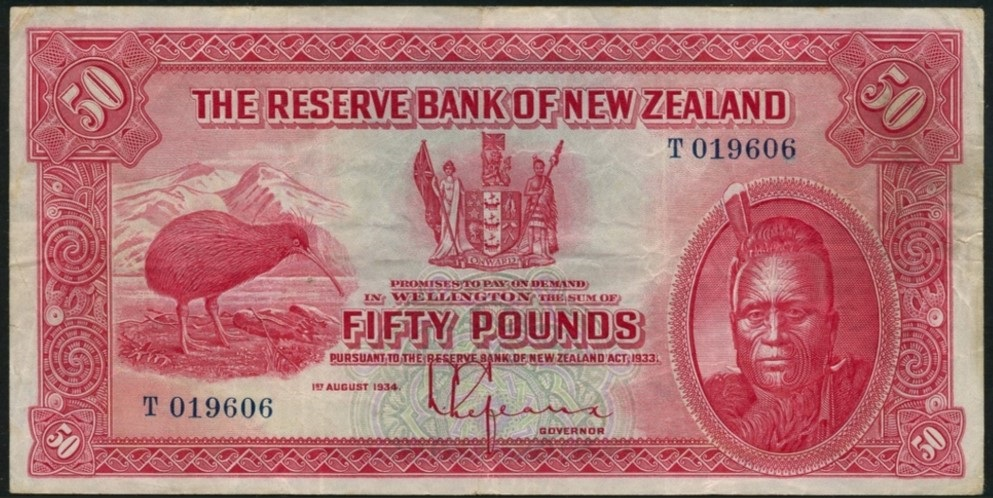 20000 new zealand - Rare world banknotes sell for millions at auction!