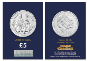 Platinum 300x210 - New UK £5 coin issued to celebrate Her Majesty's 70th Wedding Anniversary