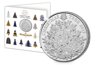 Xmas Card 300x208 - The UK's FIRST EVER Christmas £5 Coin
