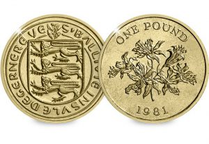 Guernsey Lily 1 448P 1 300x208 - It's not just UK coins that could turn up in your change...