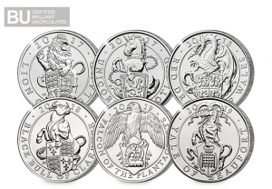 AT Change Checker Queens Beasts All 6 Coins 1 300x208 - What are 'The Queen's Beasts' and why do they feature on the new £5 coins?