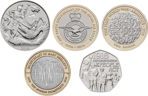 First look: New Royal Mint coin designs for 2018!