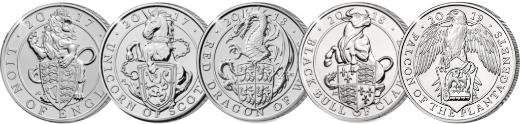Picture1 1024x245 - What are 'The Queen's Beasts' and why do they feature on the new £5 coins?