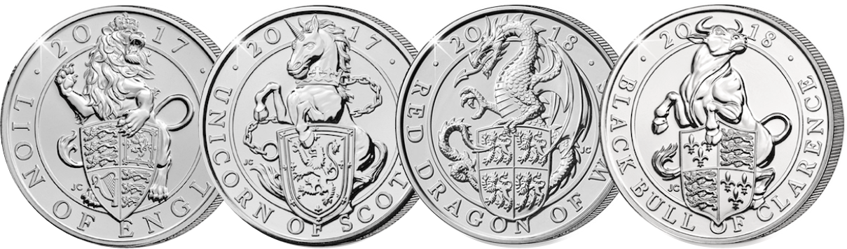 QB - What are 'The Queen's Beasts' and why do they feature on the new £5 coins?
