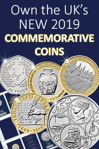 2019 CC commemorative coin set blog banner - Peter Rabbit 50ps are in circulation - here's where to find them...
