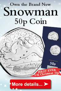 DN 2018 UK snowman 50p coin web ad 200x300px - Confirmed: Brexit 50p will be issued in 2019