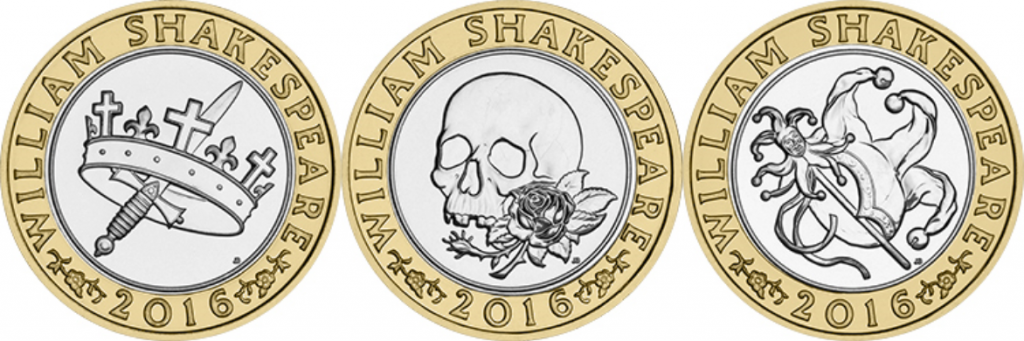 Shakespeare 1024x341 - Britain's literary heroes celebrated on coins...