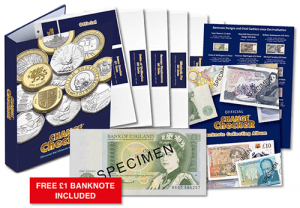Change Checker Bankote Collecting pack 300x208 - A history of the £10 note...