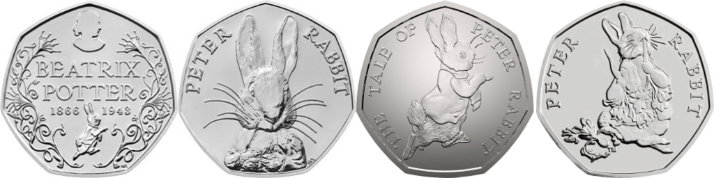 Beatrix Potter 1 1024x256 - Influential women who have featured on UK coins