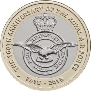 Centenary Badge 300x300 - New £2 coin series announced to commemorate RAF centenary