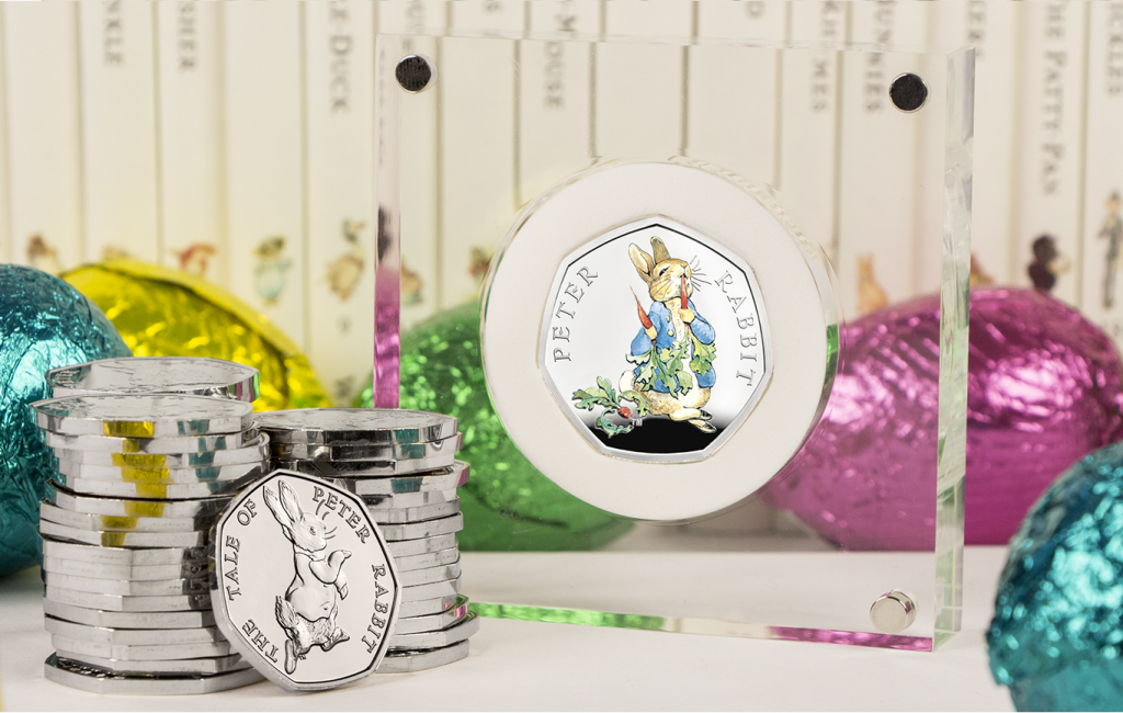 prize 1024x650 - Celebrate Easter and Win a 2018 Peter Rabbit Silver Proof 50p!
