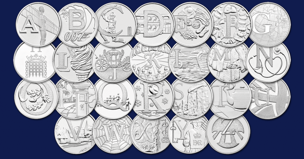 A to Z 10p BU Coins 1200x628 Facebook 4 1024x536 - We're giving away 500 Early Strike A-Z of Great Britain 10p coins!