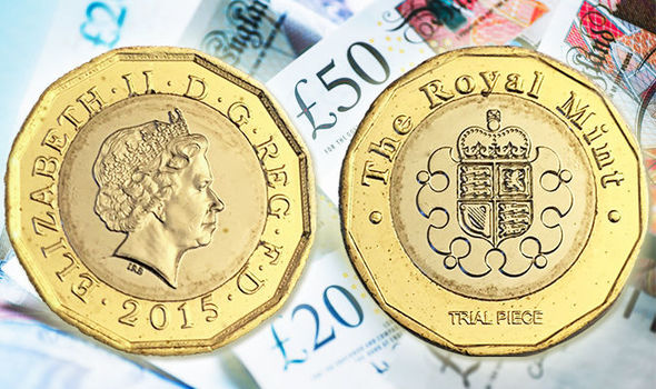 Spot the difference! Variations in the 12 sided £1 explained.
