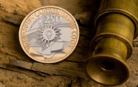 Captain Cook 2 Lifestyle 1 Email - Embark on a Voyage to Discover the NEW £2 Captain Cook Coin Collection