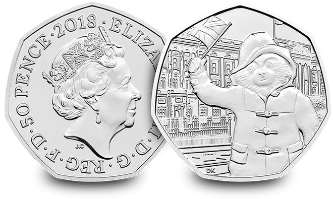 Change Checker Paddington 2018 BU 50p Landing Page Image Buckingham Palace - Why you mustn't pay £1,000 (or even £16,000) on ebay for the new Paddington 50p…