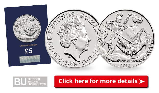 DN UK 2018 Prince George Birthday 5 Pound Coin email 650px - The birthday coin that's fit for a Prince is finally released!