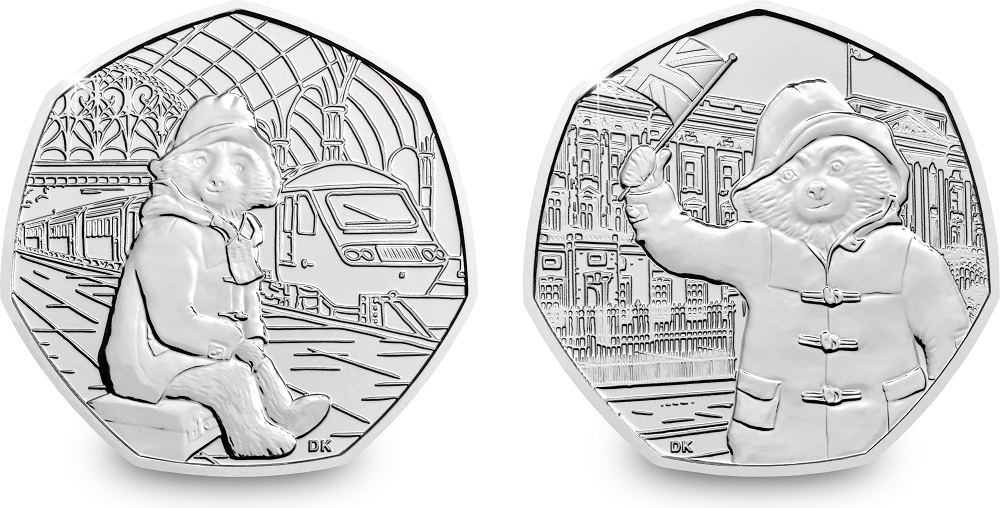 ST UK 2018 Paddington Bear Station BU 50p Coin Blog - Which coin series will you vote as your favourite?