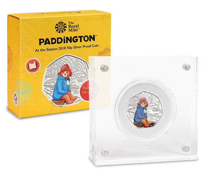 ST UK 2018 Paddington Bear Station Silver Proof 50p Coin Landing Page Image Mobile2 - Why you mustn't pay £1,000 (or even £16,000) on ebay for the new Paddington 50p…