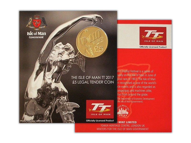 s l1600 - Relive a history of racing action with the Isle of Man TT coins!