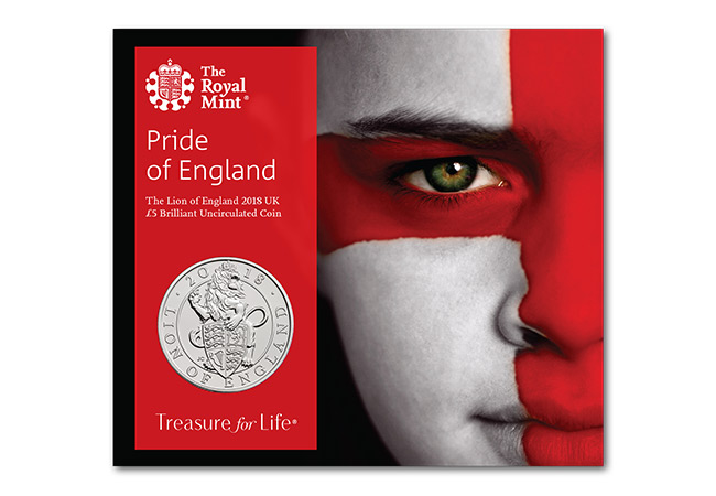 Royal Mint re-date coin for England fans...