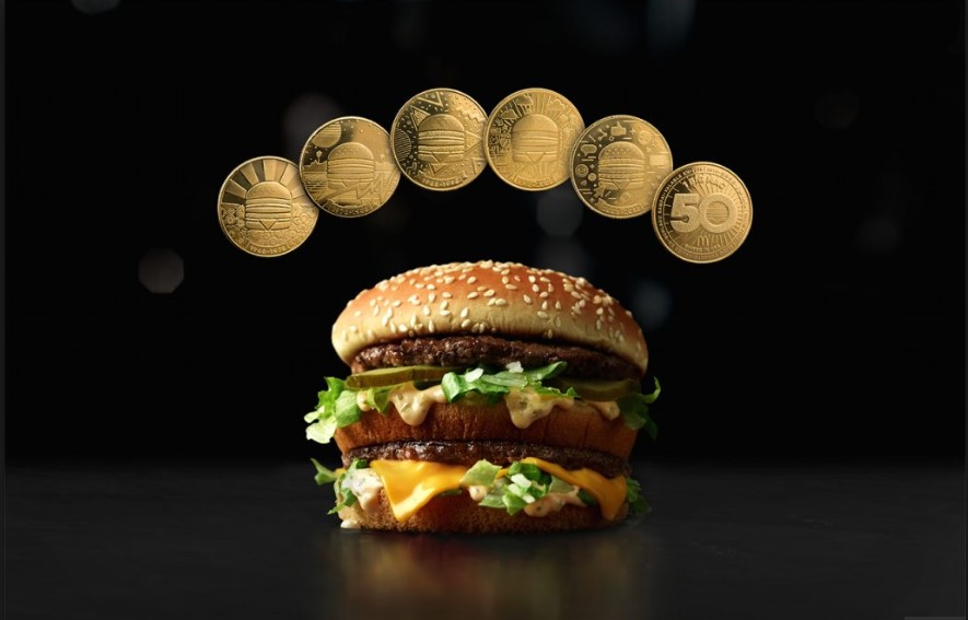 BigMac - McDonalds are striking their own currency...