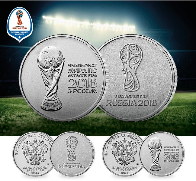 Is football finally coming home? Official 2018 FIFA World Cup Russia™ Commemorative Coins released into circulation