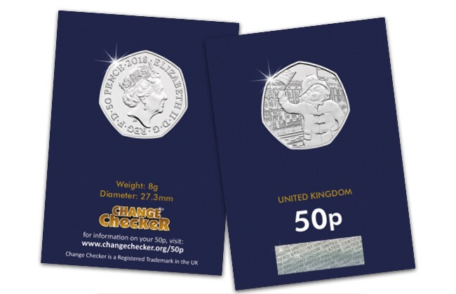 DN 2018 Paddington at the palace 50p coin email banners - UPDATED! Change Checkers vote for their favourite Paddington™ 50p coin!