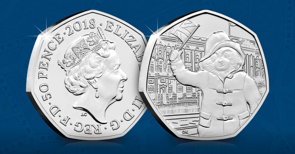 DN 2018 Paddington at the palace 50p coin facebook banners 1024x536 - UPDATED! Change Checkers vote for their favourite Paddington™ 50p coin!