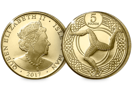What makes the 2017 Isle of Man £5 so interesting?