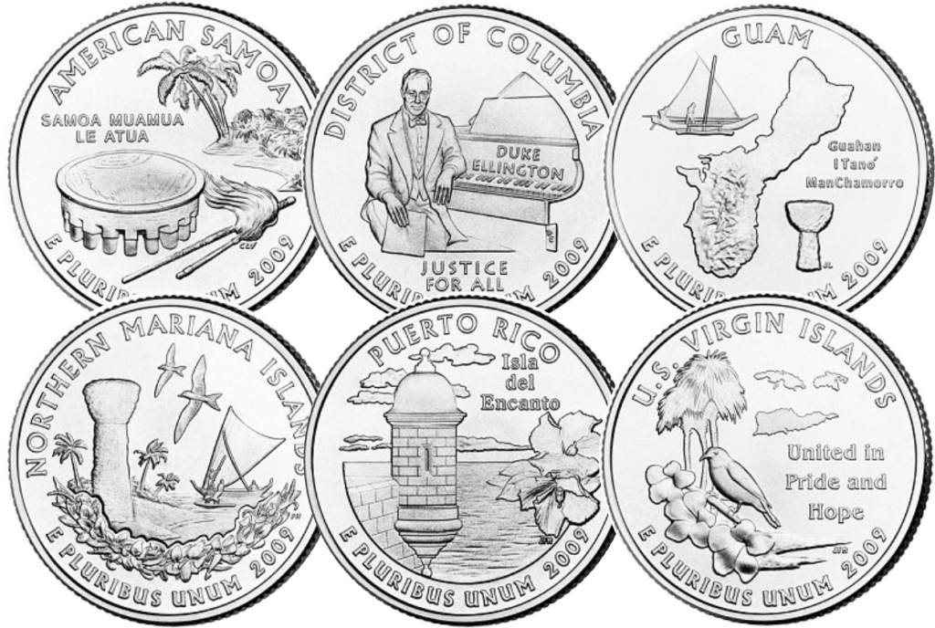 US Quarters 2009 1024x688 - The $1 Coin Series set to become a Collecting Phenomenon...