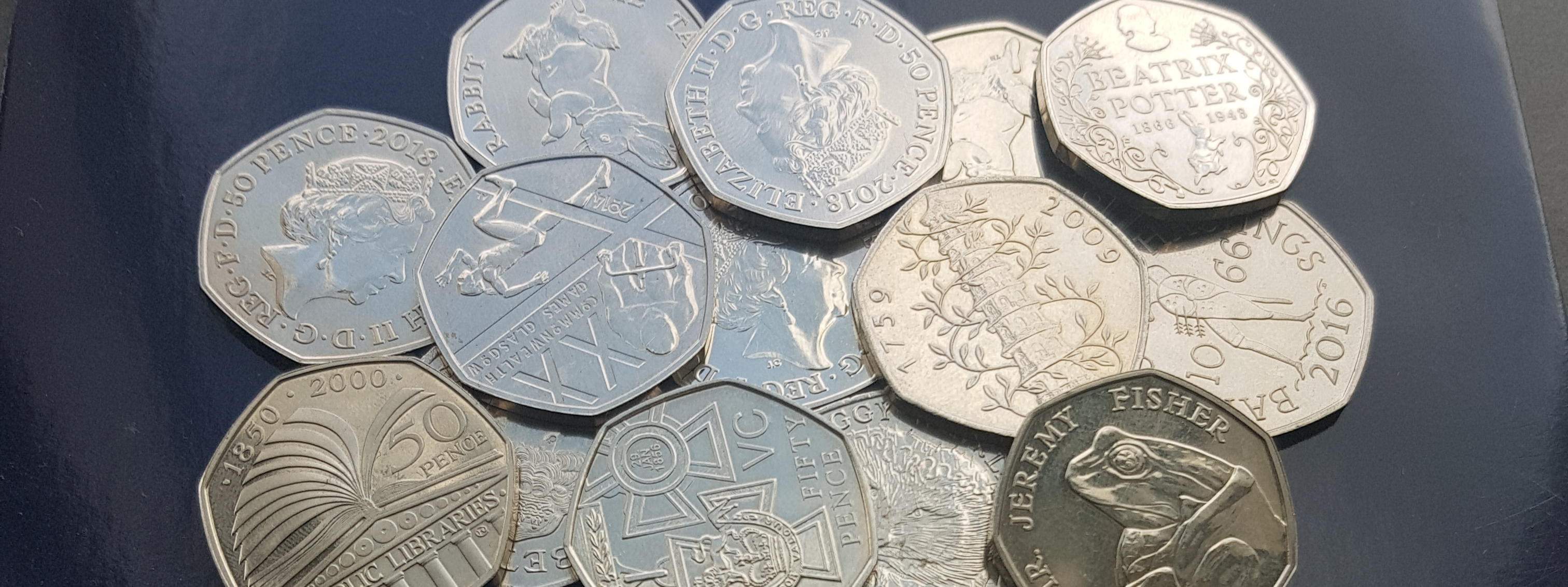 How rare is my 50p and how much is it worth? - Change Checker