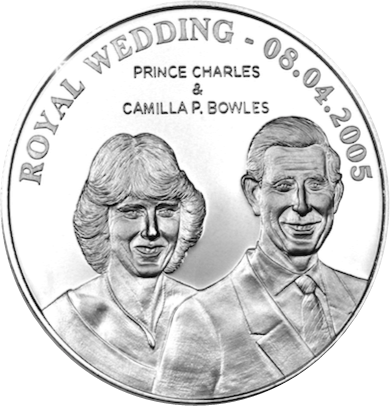 Charles and Camilla - Prince Charles in coins...