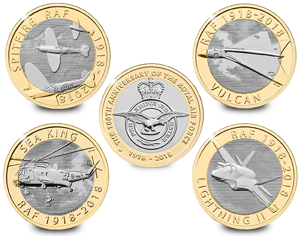 RAF Coins 1 - Which coin series will you vote as your favourite?