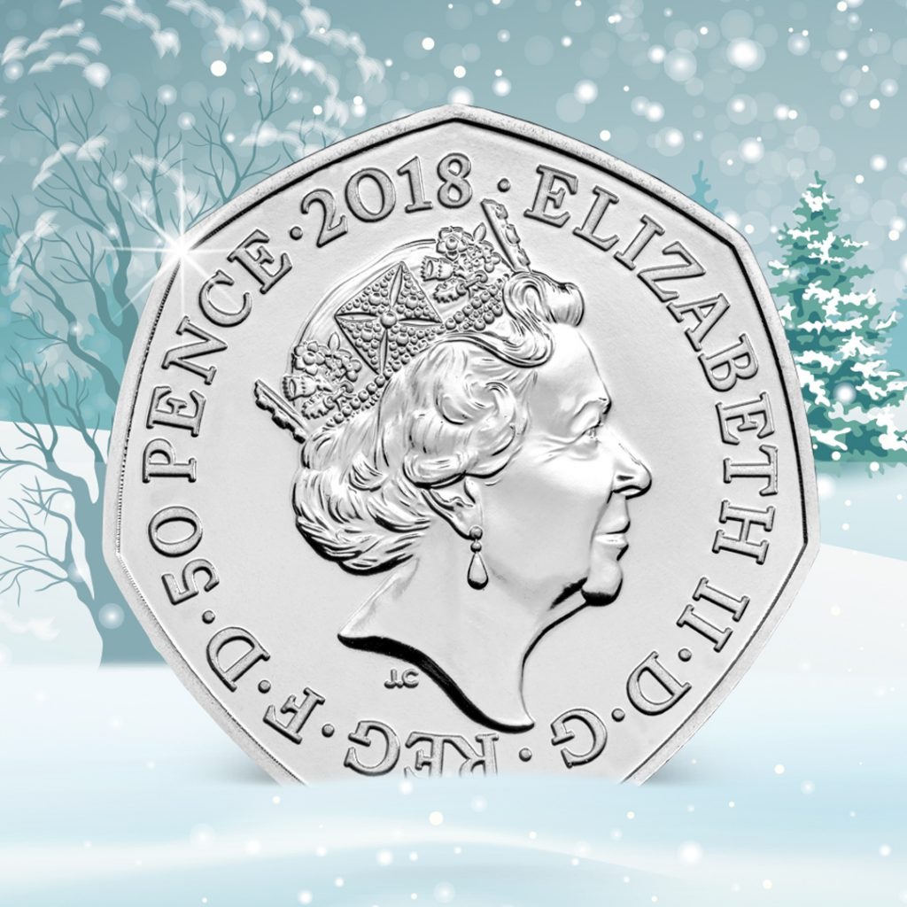 Snowman 50p Obverse 1024x1024 - Christmas comes early for Change Checkers as new UK coin is announced!