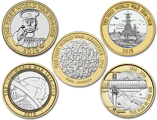 WWI Coins 1 - Which coin series will you vote as your favourite?