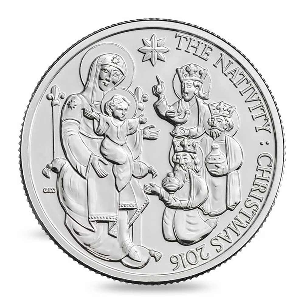 2016 RM Nativity REV - Christmas comes early for Change Checkers as new UK coin is announced!