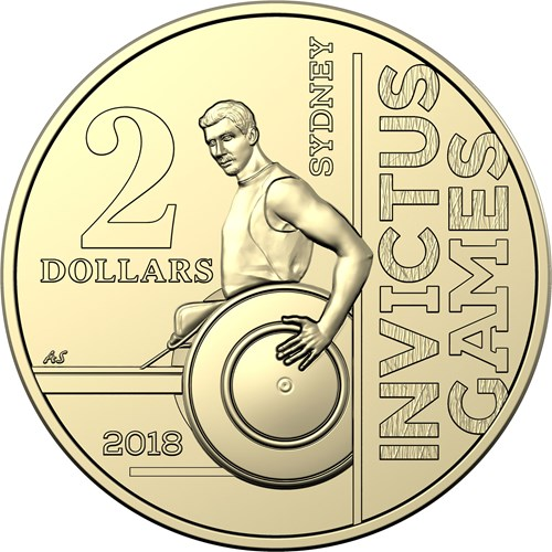 ImageGen - The Australian $2 coin representing triumph over adversity…